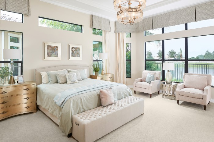 Barnard Bedroom new homes Parkland Florida