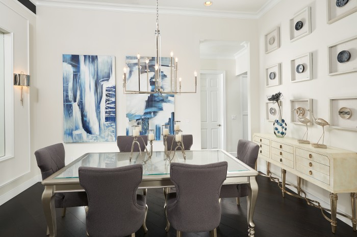 Huntsford Dining Room new homes Parkland Florida