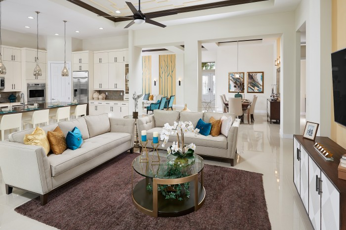 Verna Great Room new homes Parkland Florida